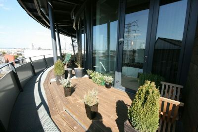 Curved Balcony View 1