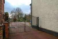 Gated Shared Entrance