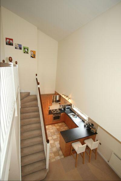 Stairs to Mezzanine Level