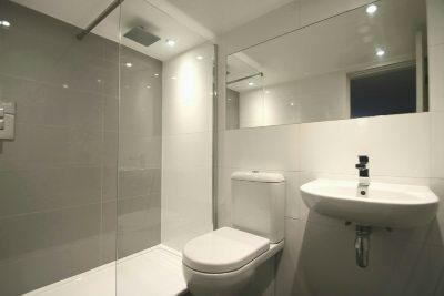 Lower Ground Floor Shower