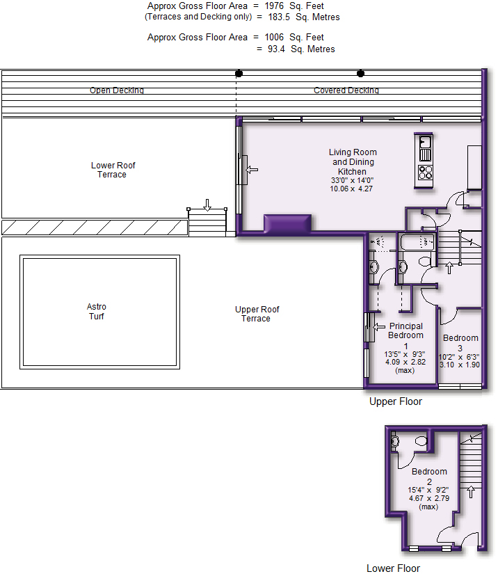 Floorplan (Penthouse)