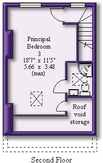 Floorplan (Second Floor)