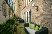 Enclosed Courtyard Patio