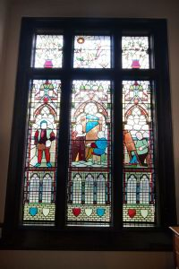 Stained Glass Window Feature