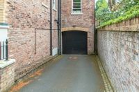 Undercroft Parking Entrance
