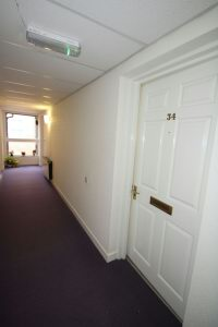 Private Entrance to Flat 34