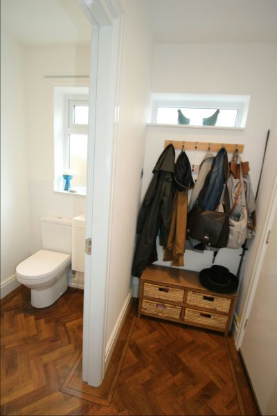 Cloaks and Ground Floor WC