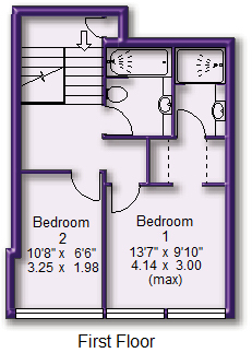 Floorplan (Top Floor)