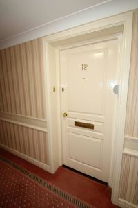 Private Entrance to Apt 12