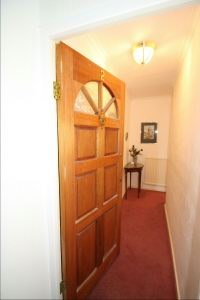 Private Entrance to Flat 2
