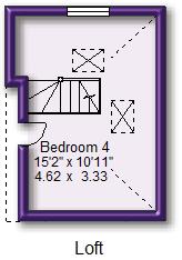 Floorplan (Loft Room)