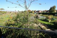 Bedroom Views over Allotments