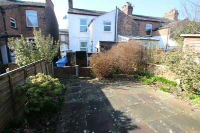 Rear of Property