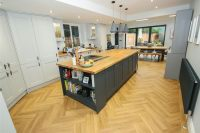 OpenPlan Living Dining Kitchen