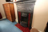 Bedroom 2 Fireplace