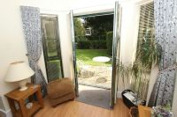 French Doors to the Patio